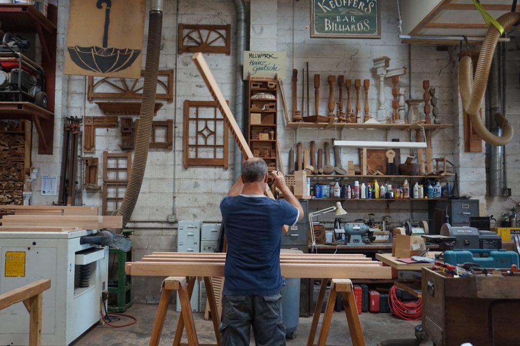 The Quisby's Creator Series: Swiss woodworker, Heinz Gautschi 1